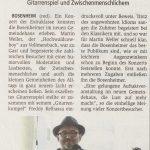 Hochwaldcowboy in Bosenheim, Öffentlicher Anzeiger 21.04.2017